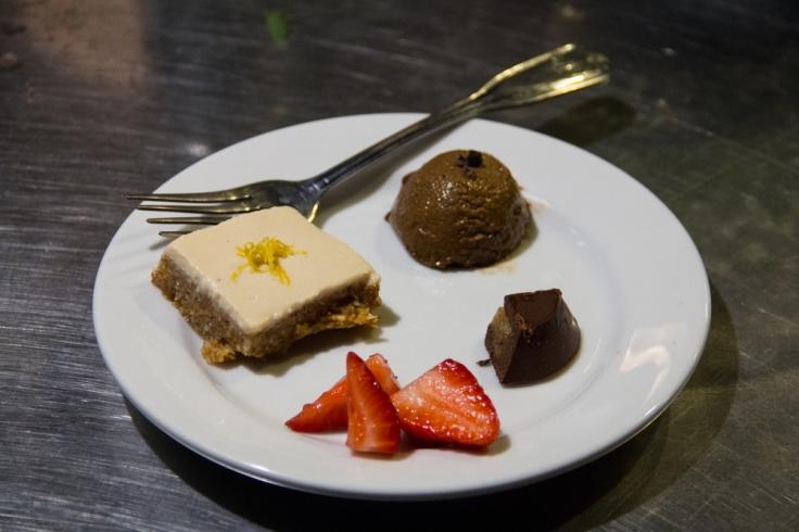 The Green Boheme desserts